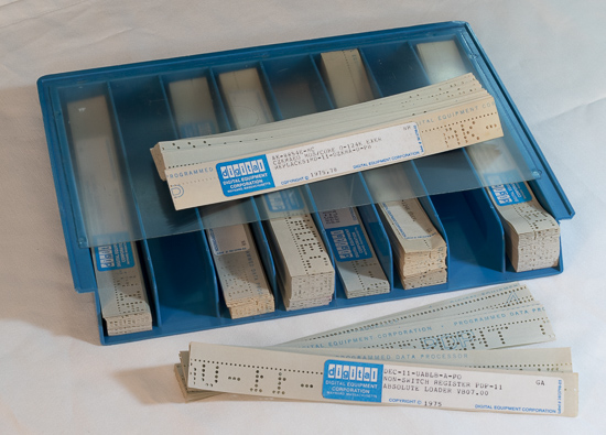 paper tape dec tray