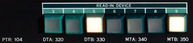 pdp10 ki10 buttons READIN 104