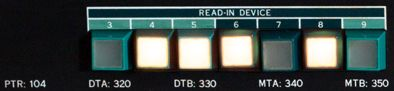 pdp10 ki10 buttons READIN 350