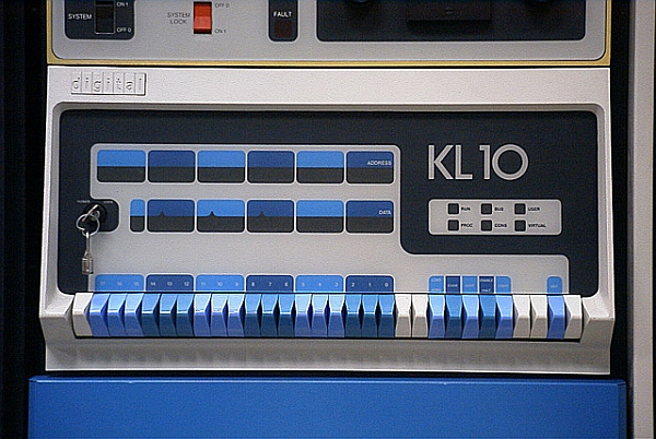 pdp10 kl10 console
