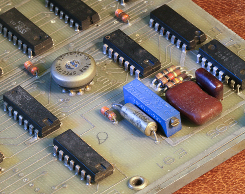 pdp1105-datapath baudrate Switch and potentiometer