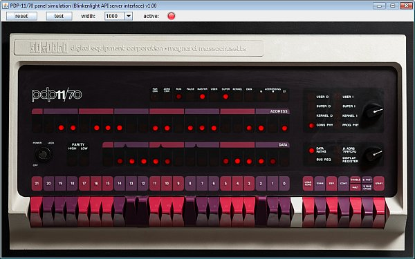 simulated pdp1170